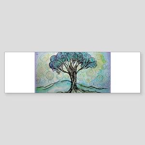 Tree, Colorful, Sticker (Bumper)