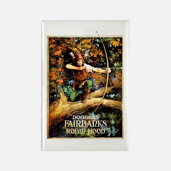 Robin Hood Rectangle Magnet
