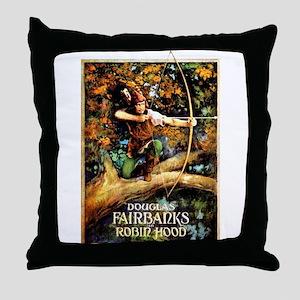 Robin Hood Throw Pillow