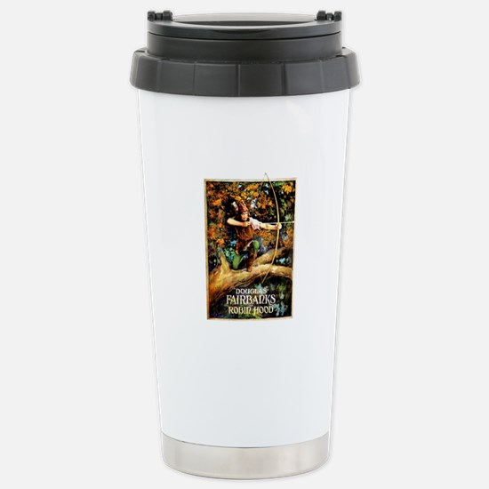 Robin Hood Stainless Steel Travel Mug