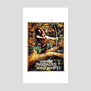 Robin Hood Sticker (Rectangle)