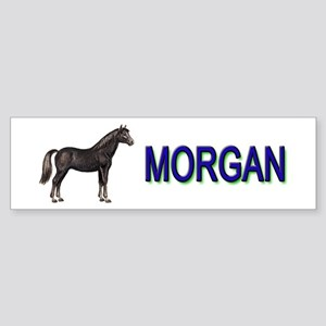 Morgan Horse Sticker (Bumper)