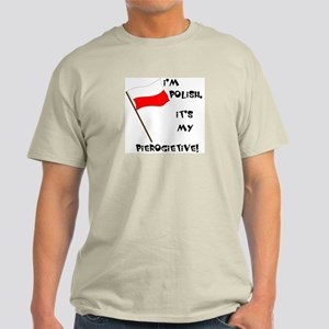 Polish Pierogietive Light T-Shirt