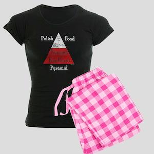 Polish Food Pyramid Women's Dark Pajamas