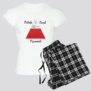 Polish Food Pyramid Women's Light Pajamas