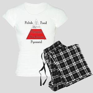 Polish Food Pyramid Women's Light Pajamas