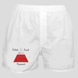 Polish Food Pyramid Boxer Shorts