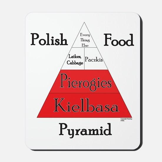 Polish Food Pyramid Mousepad