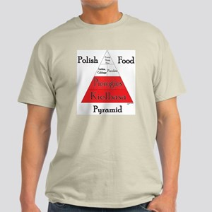 Polish Food Pyramid Light T-Shirt