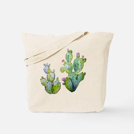 Cute Cactus Tote Bag