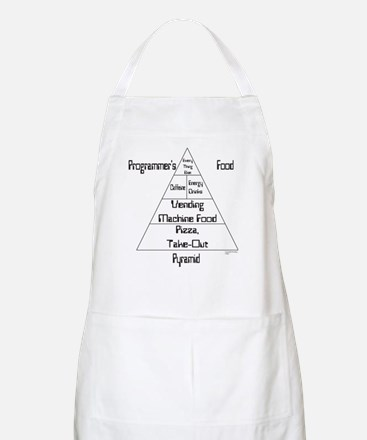 Programmer's Food Pyramid Apron