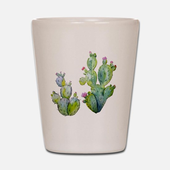 Cute Cactus Shot Glass
