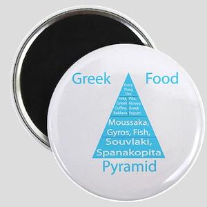 Greek Food Pyramid Magnet