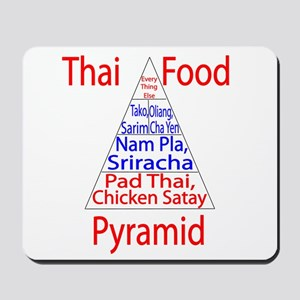 Thai Food Pyramid Mousepad