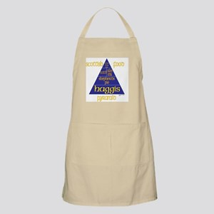 Scottish Food Pyramid BBQ Apron
