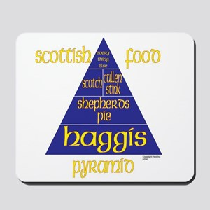 Scottish Food Pyramid Mousepad