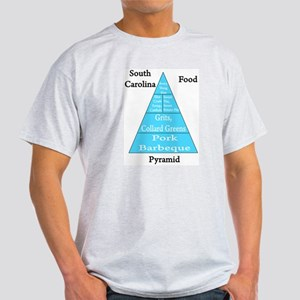 South Carolina Food Pyramid Light T-Shirt