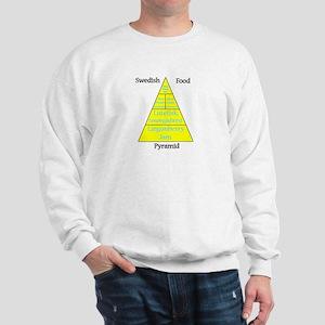Swedish Food Pyramid Sweatshirt