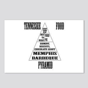 Tennessee Food Pyramid Postcards (Package of 8)