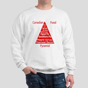 Canadian Food Pyramid Sweatshirt