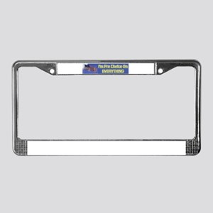 I'm Pro Choice License Plate Frame