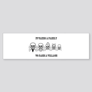 It Takes a Family Sticker (Bumper)