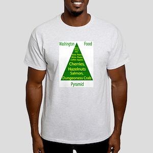 Washington Food Pyramid Light T-Shirt
