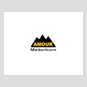 Amour Matterhorn Small Poster