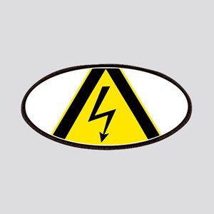 High Voltage Oval Patches