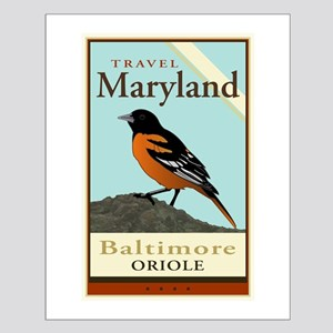 Travel Maryland Small Poster