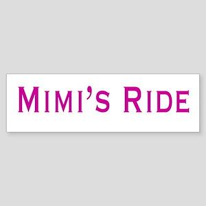 Mimi's Ride Sticker (Bumper)