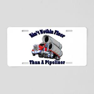 Pipeliner Aluminum License Plate