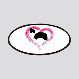 Heart Border Collies Patches