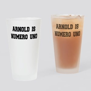 Arnold is Numero Uno Pint Glass