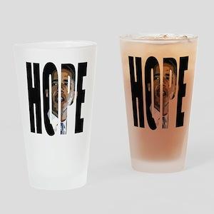 Obama Hope Pint Glass