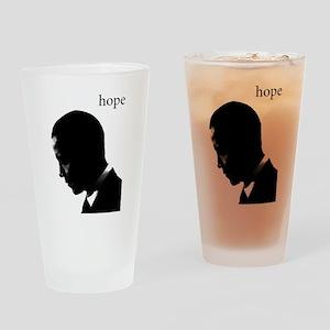 Barack Obama Hope Pint Glass