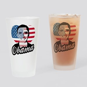 Barack Obama American Heart Pint Glass