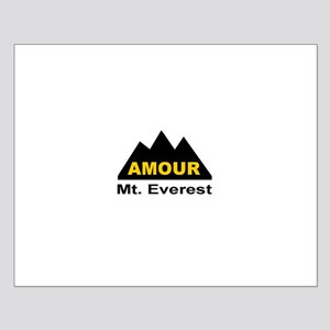 Amour Mt. Everest Small Poster