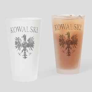 Kowalski Polish Eagle Pint Glass