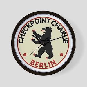 Checkpoint Charlie Berlin Wall Clock
