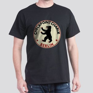 Checkpoint Charlie Berlin Dark T-Shirt