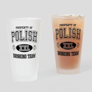 Polish Drinking Team Pint Glass