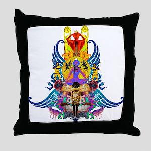 Starry wisdom Throw Pillow