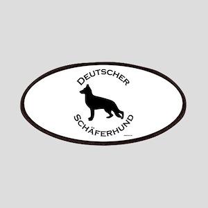 Deutscher Schaferhund Patches