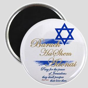Baruch HaShem Adonai - Magnet