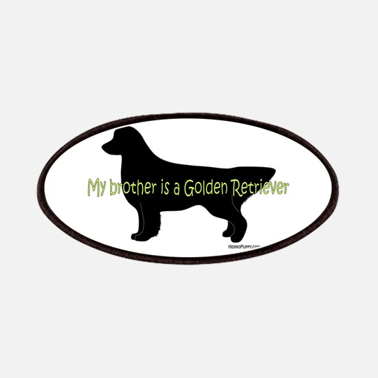 My Brother is a Golden Retrie Patches