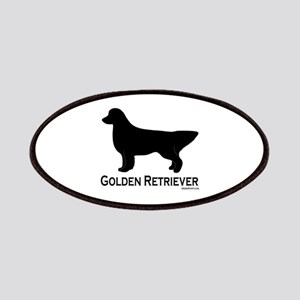 Golden Retriever Silhouette Patches