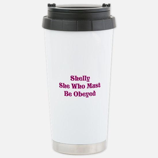 Must Be Obeyed Stainless Steel Travel Mug