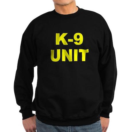 K-9 Unit Sweatshirt (2 Sided)