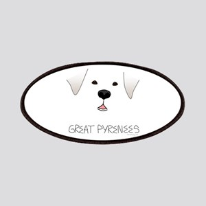 Great Pyrenees Face Patches